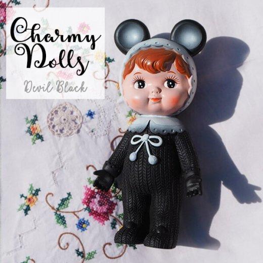 Charmy チャーミードール ソフビ人形【Devil Black】【画像3】