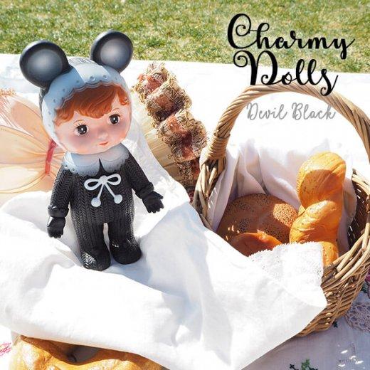 Charmy チャーミードール ソフビ人形【Devil Black】【画像4】