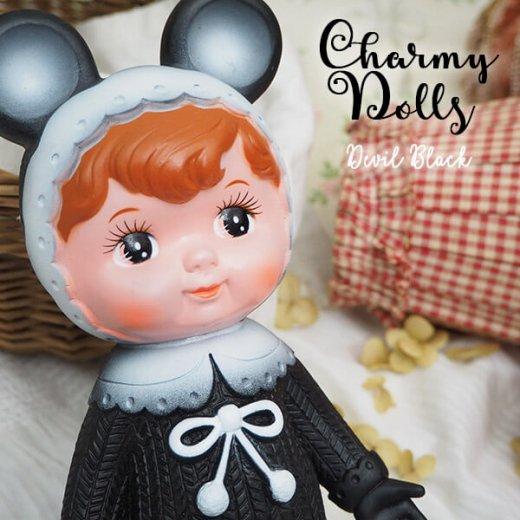 Charmy チャーミードール ソフビ人形【Devil Black】【画像5】