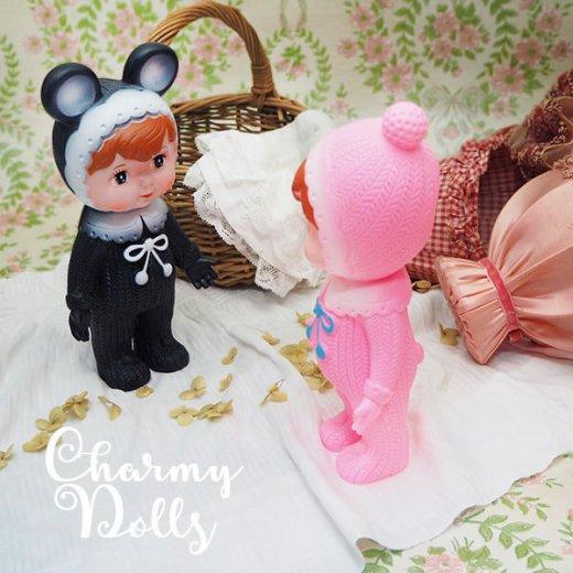 Charmy チャーミードール ソフビ人形【Devil Black】【画像6】