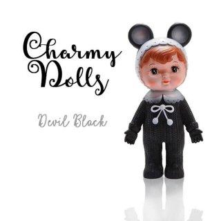 インテリア Charmy チャーミードール ソフビ人形【Devil Black】
