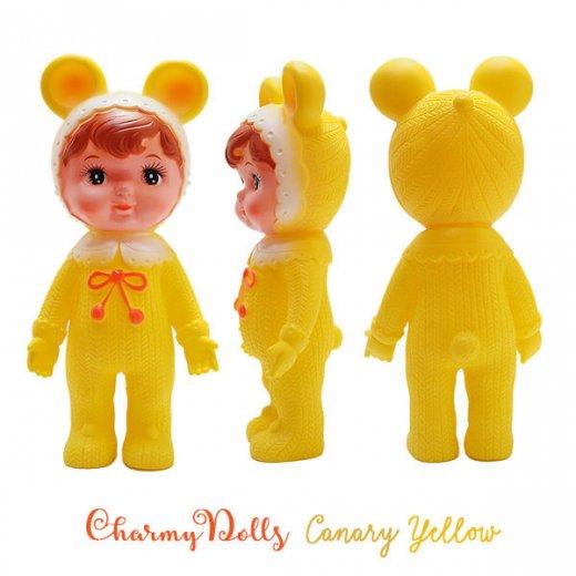 Charmy チャーミードール ソフビ人形【Canary Yellow】【画像2】
