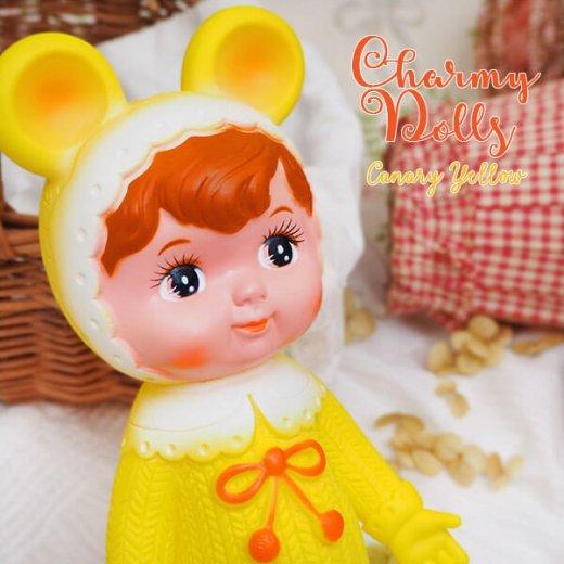 Charmy チャーミードール ソフビ人形【Canary Yellow】【画像4】