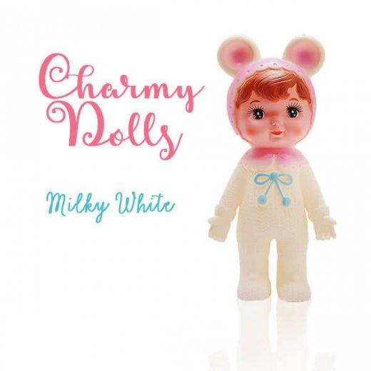 Charmy チャーミードール ソフビ人形【Milkey White】