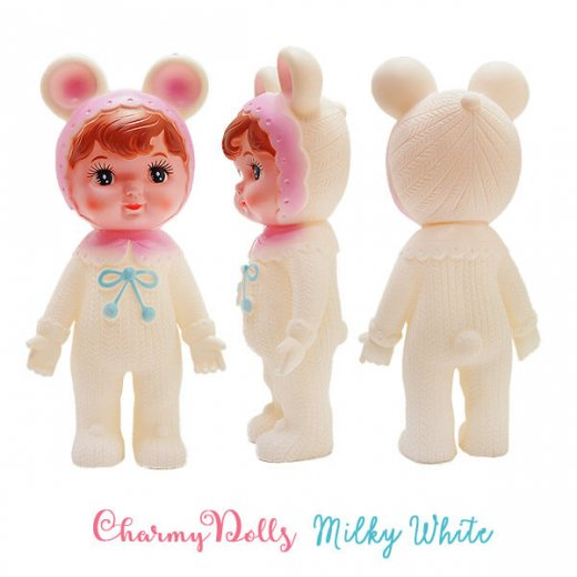 Charmy チャーミードール ソフビ人形【Milkey White】【画像2】