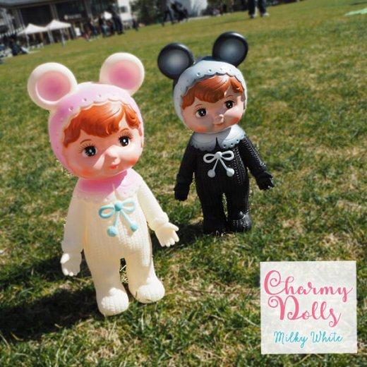 Charmy チャーミードール ソフビ人形【Milkey White】【画像8】