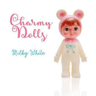 インテリア Charmy チャーミードール ソフビ人形【Milkey White】