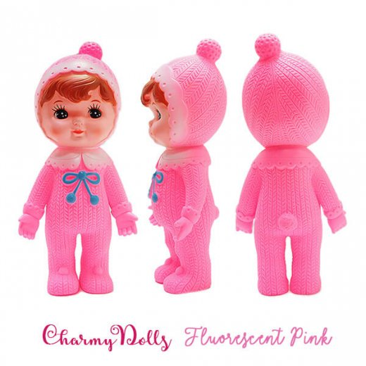 Charmy チャーミードール ソフビ人形【Fluorescent Pink】【画像2】