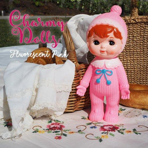 Charmy チャーミードール ソフビ人形【Fluorescent Pink】【画像4】