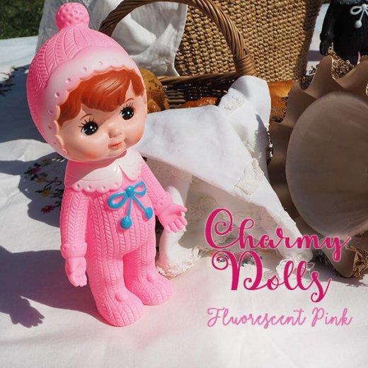 Charmy チャーミードール ソフビ人形【Fluorescent Pink】【画像5】