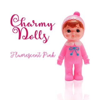 インテリア Charmy チャーミードール ソフビ人形【Fluorescent Pink】