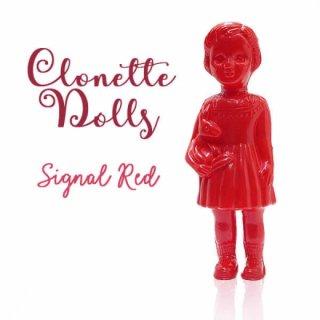 フランス クロネットドール clonette dolls【Signal Red】