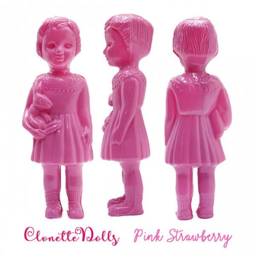 フランス クロネットドール clonette dolls【Pink Strawberry】【画像2】