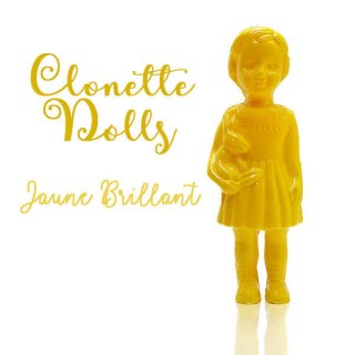 森ガール 雑貨  フランス クロネットドール clonette dolls【Jaune Brillant】