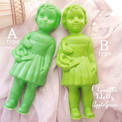 フランス クロネットドール clonette dolls【Apple green】【画像4】