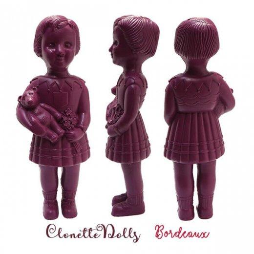 フランス直接買付け品 クロネットドール 28cm clonette dolls【Bordeaux】【画像2】
