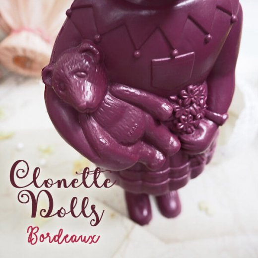 フランス直接買付け品 クロネットドール 28cm clonette dolls【Bordeaux】【画像3】