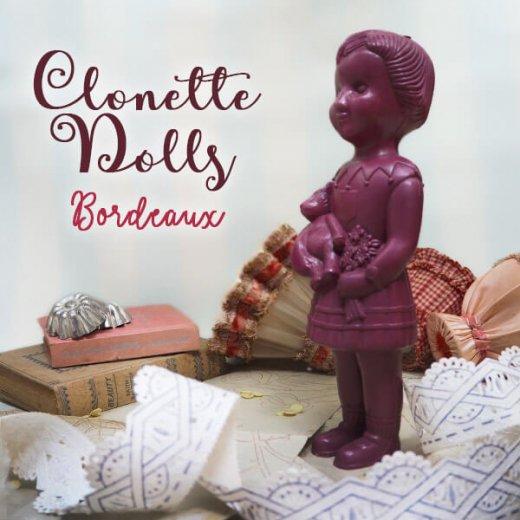 フランス直接買付け品 クロネットドール 28cm clonette dolls【Bordeaux】【画像4】