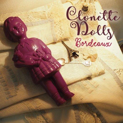フランス直接買付け品 クロネットドール 28cm clonette dolls【Bordeaux】【画像5】