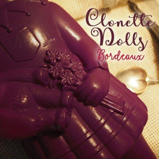 フランス直接買付け品 クロネットドール 28cm clonette dolls【Bordeaux】【画像6】