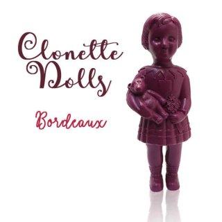 クロネットドール フランス直接買付け品 クロネットドール 28cm clonette dolls【Bordeaux】