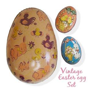 イースター 復活祭 雑貨 イギリス アンティーク イースターエッグ TINボックス 復活祭【うさぎ ひよこ】