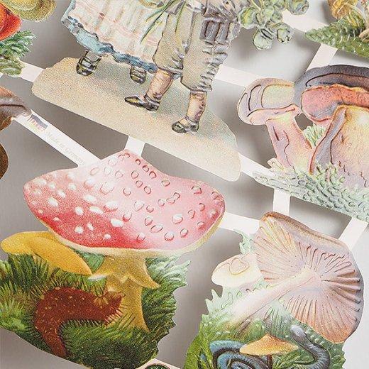 ドイツ クロモス【M】(幸福のキノコと四つ葉のクローバー)【画像3】
