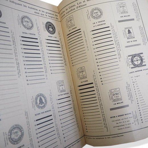 フランス 1930年 D.M.C. 刺繍図案 ドロンワークアンティーク本 LES JOURS SUR TOILE【画像7】