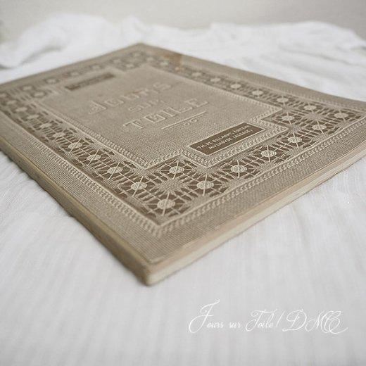 フランス 1930年 D.M.C. 刺繍図案 ドロンワークアンティーク本 LES JOURS SUR TOILE【画像9】
