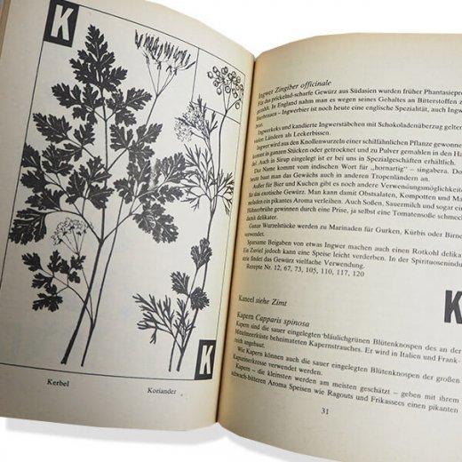 ドイツ 1950年代 ハーブ・スパイス図鑑 ヴィンテージ本 【DDR/旧東ドイツ時代】 【画像3】