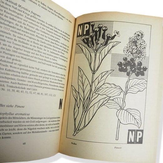 ドイツ 1950年代 ハーブ・スパイス図鑑 ヴィンテージ本 【DDR/旧東ドイツ時代】 【画像7】