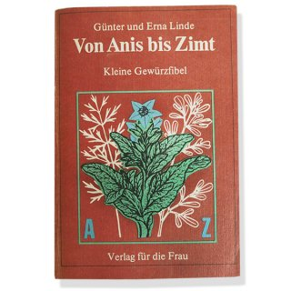 アンティーク ドイツ 1950年代 ハーブ・スパイス図鑑 ヴィンテージ本 【DDR/旧東ドイツ時代】