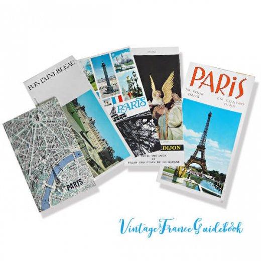フランス蚤の市より ヴィンテージガイドブック5冊セット 【市内・美術館など】
