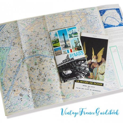 フランス蚤の市より ヴィンテージガイドブック5冊セット 【市内・美術館など】【画像2】
