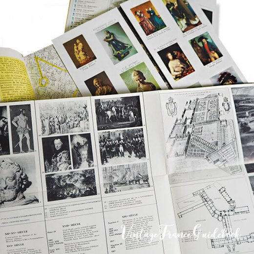 フランス蚤の市より ヴィンテージガイドブック5冊セット 【市内・美術館など】【画像5】