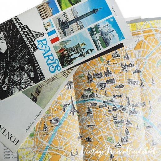 フランス蚤の市より ヴィンテージガイドブック5冊セット 【市内・美術館など】【画像7】