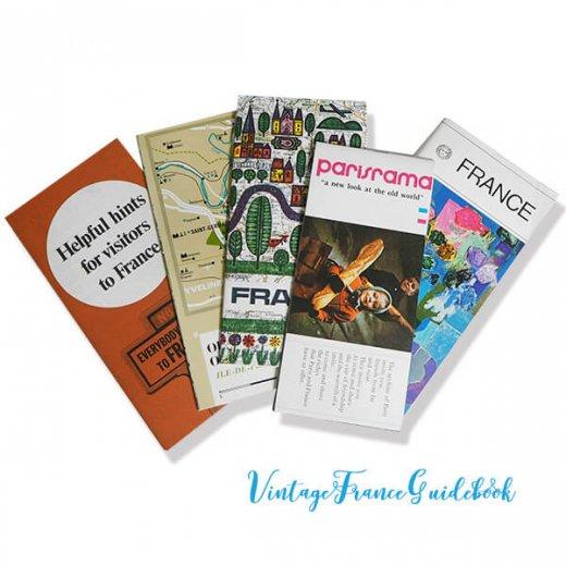 フランス蚤の市より ヴィンテージガイドブック5冊セット 【市内・郊外案内など】