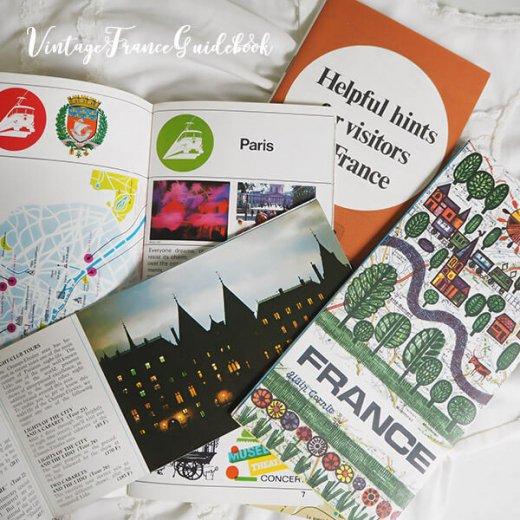 フランス蚤の市より ヴィンテージガイドブック5冊セット 【市内・郊外案内など】【画像3】
