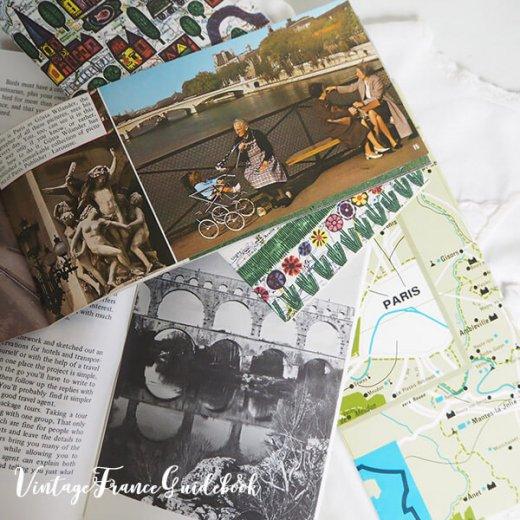 フランス蚤の市より ヴィンテージガイドブック5冊セット 【市内・郊外案内など】【画像4】