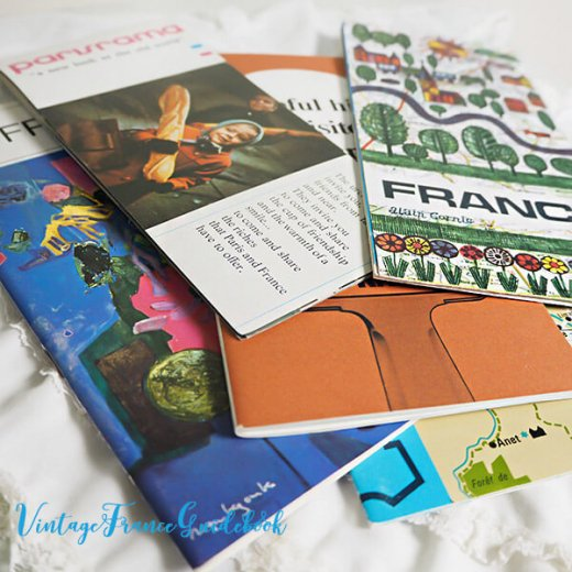 フランス蚤の市より ヴィンテージガイドブック5冊セット 【市内・郊外案内など】【画像5】