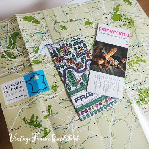 フランス蚤の市より ヴィンテージガイドブック5冊セット 【市内・郊外案内など】【画像6】