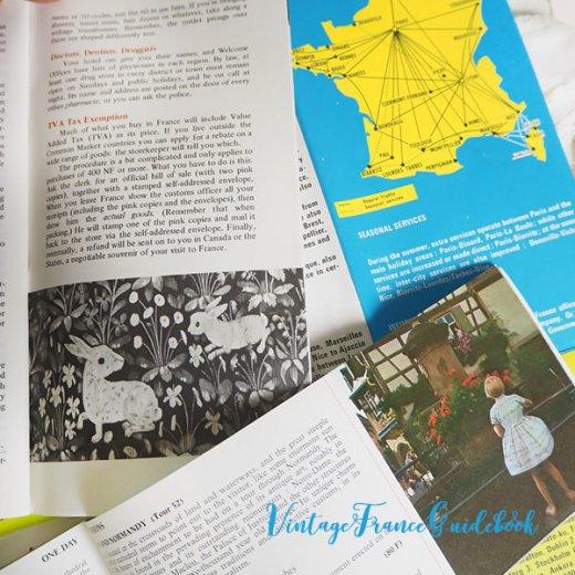 フランス蚤の市より ヴィンテージガイドブック5冊セット 【市内・郊外案内など】【画像7】