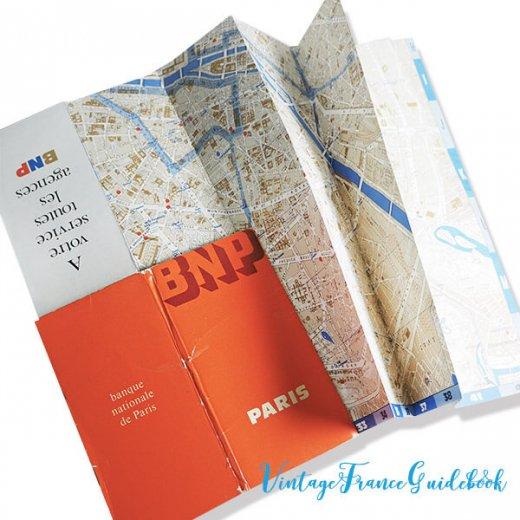 フランス蚤の市より ヴィンテージガイドブック5冊セット 【パリの地図】【画像4】