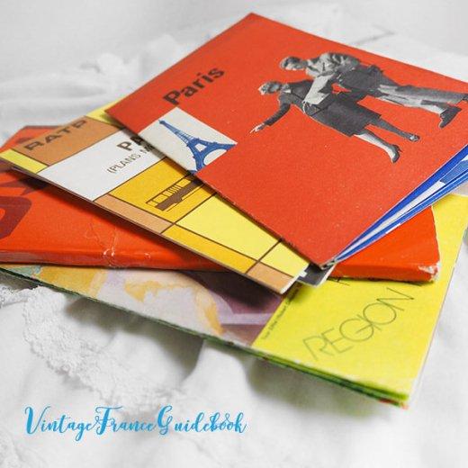 フランス蚤の市より ヴィンテージガイドブック5冊セット 【パリの地図】【画像6】
