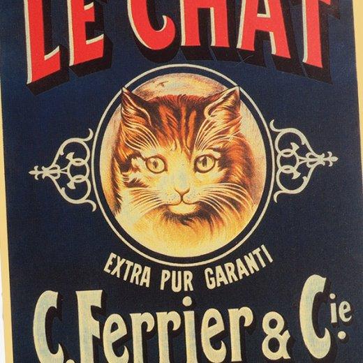 フランス ポストカード 猫 キャット (SAVON LE CHAT)【画像3】
