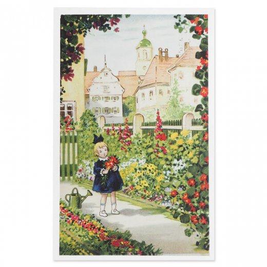 フランス ポストカード  (Mon jardin)