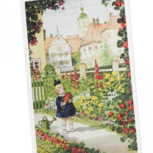 フランス ポストカード  (Mon jardin)【画像2】