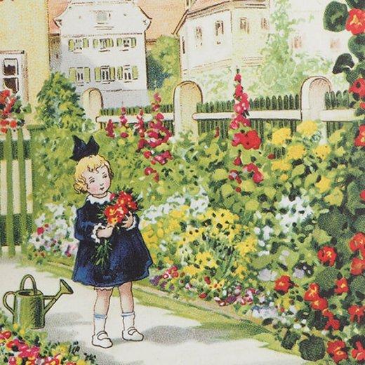 フランス ポストカード  (Mon jardin)【画像3】