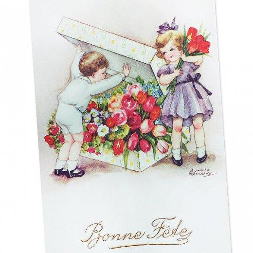 フランス ポストカード  (Bonne fete D)【画像2】