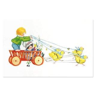 森ガール 雑貨  フランス イースター 復活祭 ポストカード (Paques 0)